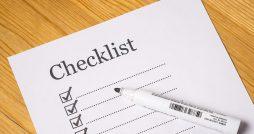 home build checklist