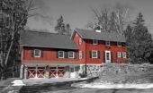 exterior home winter