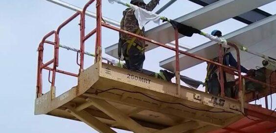 roof access lift